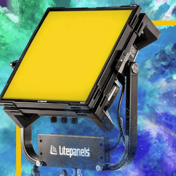 Rent ULTIMATE Production LIGHTING KIT- 2 Astra 1x1 bi- color lights & 1 Gemini RBG light