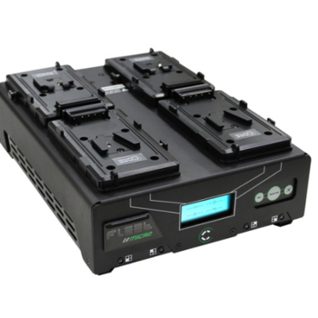 Rent Core SWX Fleet Micro 3A Digital Quad Charger for V-Mount Batteries