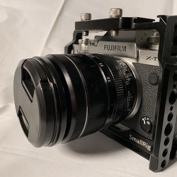 Rent Fujifilm x-t3 with 18-55mm f.2.8-4 / Viltrox EF-XF, FD-XF