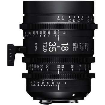 Rent Sigma 18-35mm T2 Cine High-Speed Zoom Lens
