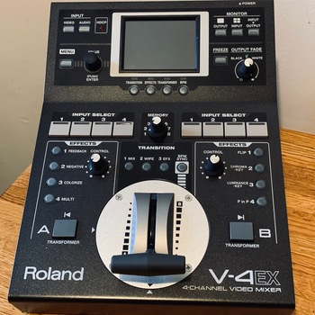 Rent Roland V-4EX Four Channel Digital Video Mixer with Effects - VJ / Concert Visuals Gear