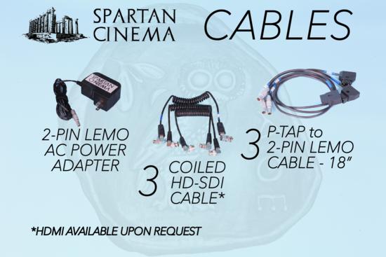 Smallhd focus 7 rx bolt 500 xt 1to2 cables