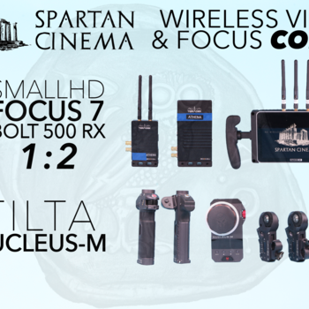 Rent Nucleus M + Bolt 500 XT 1:2 TX + RX + SmallHD FOCUS 7 Combo Wireless Video & Lens Control