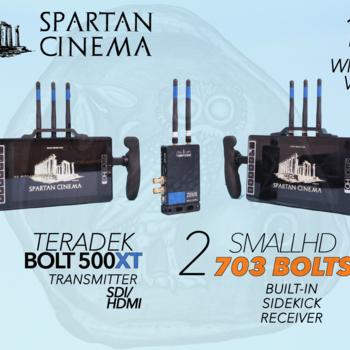 Rent 2x SmallHD 703 Bolts + Teradek Bolt 500 XT Transmitter 1:2