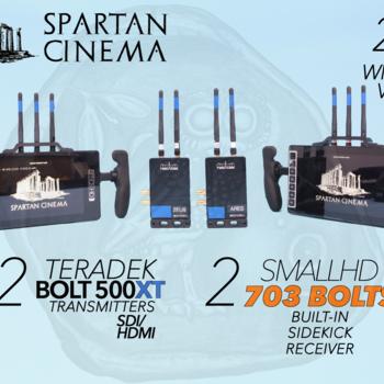 Rent Two SmallHD 703 Bolts + Two 500 XT Transmitters 2:2 Wireless