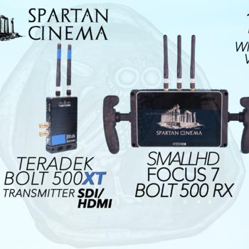 Rent SmallHD FOCUS 7 Bolt Monitor + Bolt 500 XT Transmitter 1:1  Wireless Video #2