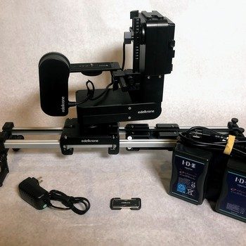 Rent Edelkrone HeadPLUS PRO Bundle - with SliderPLUS PRO Long, Slide Module, Focus Module and Laser Module