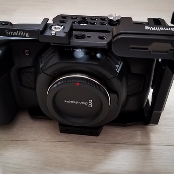 Rent Blackmagic Pocket Cinema Camera 4k w/ Full Cage