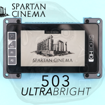 Rent SmallHD 503 UltraBright Monitor + Mount & Sunshade #1