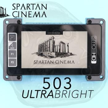 Rent SmallHD 503 UltraBright Monitor + Mount & Sunshade #2