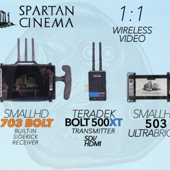Rent SmallHD 703 Bolt + 503 UltraBright + Bolt 500 XT Tx #1