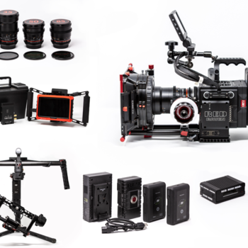 Rent Red Raven Dragon 4.5K + Ronin + Lenses +Wireless Monitor