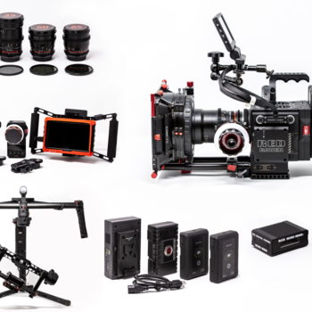 Rent Red Raven Dragon 4.5K + Ronin + Lenses +Wireless Monitor + Follow Focus