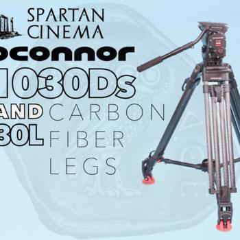 Rent OConnor 1030Ds w/ 30L CF Tripod Mid-Level Spreader & Case