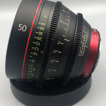 Rent Canon Cine 50mm CN-e    T1.3 Cinema Lens EF