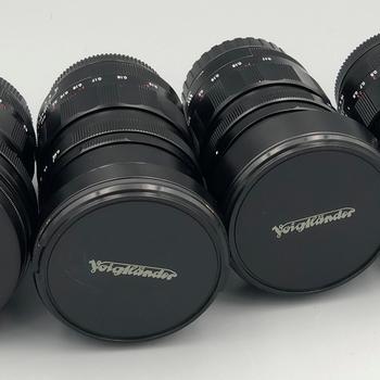 Rent Voigtlander Complete F0.95 MFT Lens set, 10.5mm, 17mm, 25mm, 42.5mm.