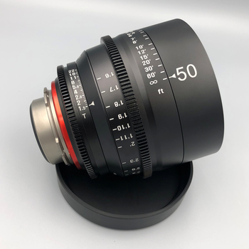 Rent Xeen 50mm/T1.5  PL Cine Lens Brand New