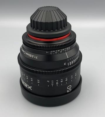 Xeen 50mm c