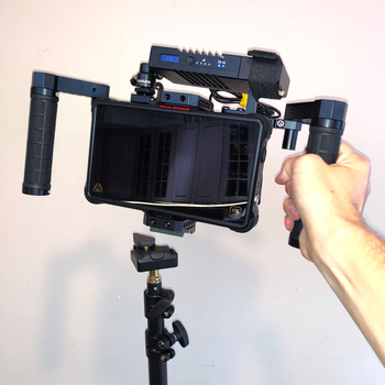 Rent Wireless Directors Monitor w/ Teradek Bolt 500 XT & Atomos Inferno, V-Mount Battery, Quick Release
