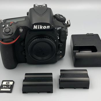 Rent Nikon D810 + SD Card + Batteries