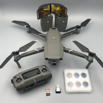 Rent Mavic 2 Zoom Professional FLY Kit, ND Filters, Frequency Booster, extra batteries, props