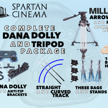 Rent Complete Dana Dolly + Tripod Package w/ Miller Arrow 30