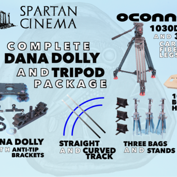 Rent Complete Dana Dolly + Tripod Package w/ OConnor 1030Ds