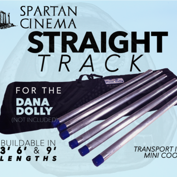Rent Dana Dolly Portable Straight Track Kit (3'/ 6'/ 9') #1