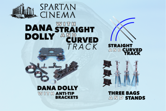Danadolly curved and straight track p1