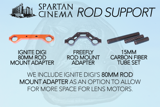 Movi pro rod support