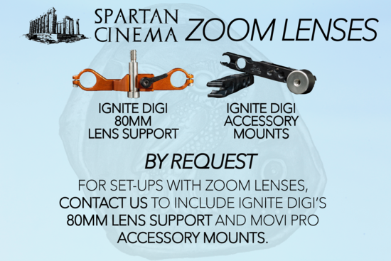 Movi pro zoom lenses