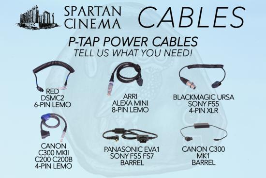 Movi pro cables