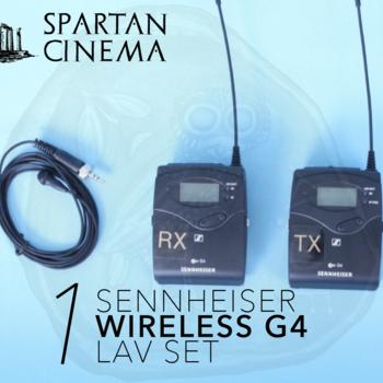 Rent Sennheiser G4 Wireless EW 112 Lavalier Set (EK 100 Rx SK 100 Tx) #1