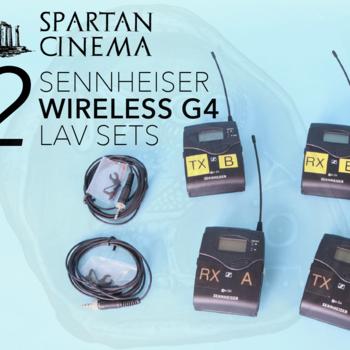 Rent (2x) Two Sennheiser G4 Wireless EW 112 Lavalier Sets (EK 100 Rx SK 100 Tx)