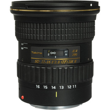 Rent Super-wide Tokina 11-16mm wide angle zoom lens