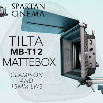 Rent Tilta 4×5.65 Carbon Fiber Matte Box (Clamp-on MB-T12) #2