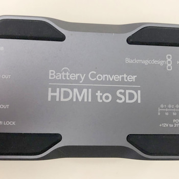 Rent Blackmagic Design Converter HDMI to SDI with Li-Ion battery