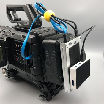 Rent BlackMagic URSA Mini Pro 4.6K + EVF + Cinema Lens + Shoulder Kit + MORE