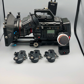Rent URSA Mini Pro 4.6K + Cine Lenses + Tilta Follow Focus + Teradek Wireless System + MORE
