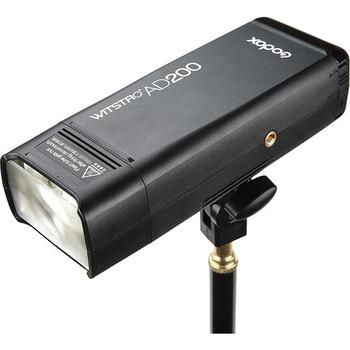 Rent Godox AD200 TTL Pocket Flash Kit + Umbrella + Stand