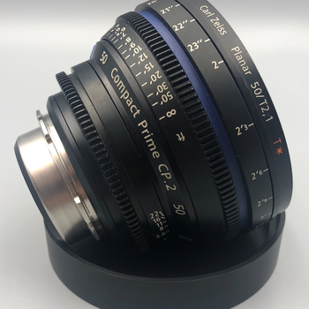 Rent Zeiss CP.2 50mm/T2.1  PL Mount Cinema Lens CP2