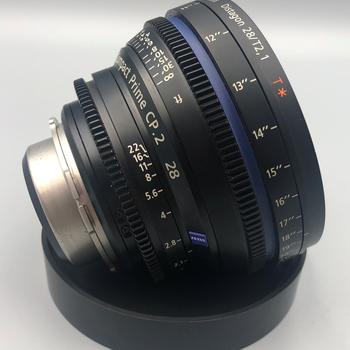 Rent Zeiss CP.2 28mm/T2.9  PL Mount Cinema Lens CP2