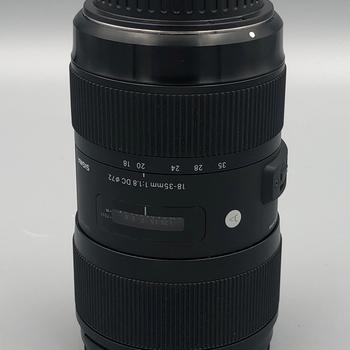 Rent Sigma EF 18-35mm F/1.8 Lens