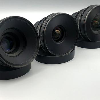 Rent Zeiss CP2 Primes  3 Lens Set PL Mount