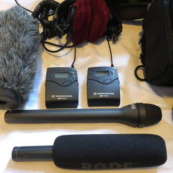 Rent Audio Package w/ Zoom F4, G3, Shotgun, and Reporter mic