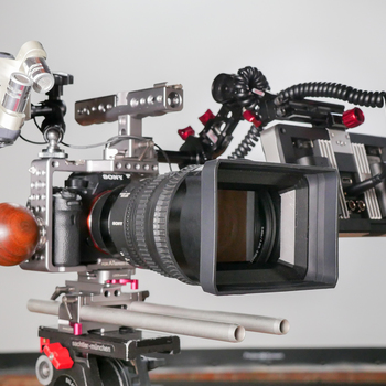 Rent Sony a7sii | Tilta cage, rods, | SmallHD 702 | Zacuto EVF Mount | &More