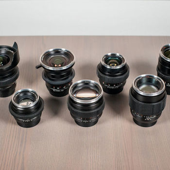 Rent Zeiss Distagon ZE Prime Lens Set (Canon EF mount)