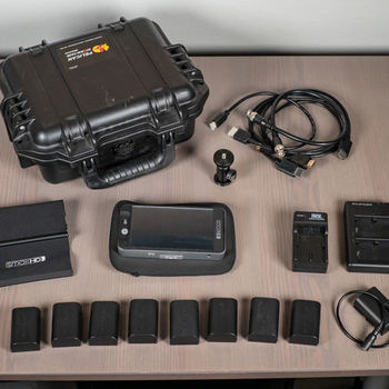 Rent SmallHD 502 HDMI & SDI On-Camera Monitor (with 8 batteries and DC power adapter)