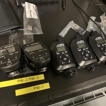 Rent PocketWizard Plus III Transceiver kit of 2