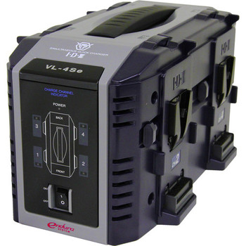Rent IDX VL-4SE Endura 4-Channel Lithium-Ion Battery Charger